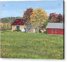 Farm On Ridge Road Acrylic Print