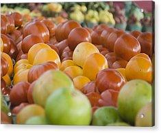 Farmers Market - 011 Acrylic Print by Lisa Missenda