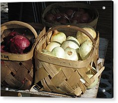 Farmer's Market Acrylic Print
