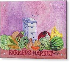 Farmers Market No.3 Acrylic Print