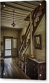 Farmhouse Entry Hall And Stairs Acrylic Print by Lynn Palmer