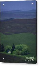 Farmhouse Acrylic Print by Lori Grimmett