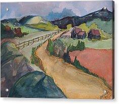 Farmland Road Acrylic Print