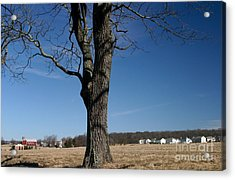 Acrylic Print featuring the photograph Farmland Versus Development by Karen Lee Ensley
