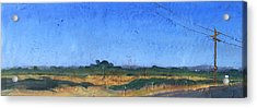 Farmscape 1 Acrylic Print by Dayton Claudio