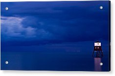 Faro Acrylic Print by Guillermo Luengas