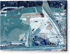 Fasten Your Seat Belt Acrylic Print by Diane montana Jansson