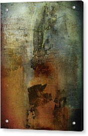 Faults Of Mine  Acrylic Print by Empty Wall