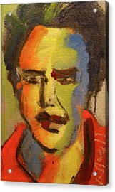 Fauvist Elvis Acrylic Print