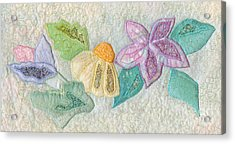 Favourite Lacy Blooms Acrylic Print by Denise Hoag