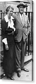 Fdr Presidency. First Lady Eleanor Acrylic Print by Everett