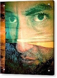 Fear Acrylic Print by Beto Machado
