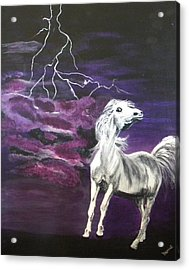 Fear In The Night 2 Acrylic Print