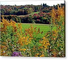 Acrylic Print featuring the photograph Feast Of Autumn by Christian Mattison