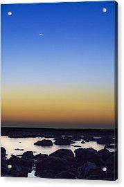 February New Moon Acrylic Print
