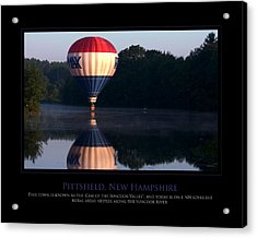 Feel Like Floating Acrylic Print by Jim McDonald Photography