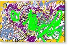 Feelings Of Band Camp Acrylic Print by Rachael McIntosh