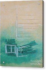 Fell Acrylic Print by Paul OBrien
