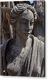 Female Statue Acrylic Print by Garry Gay