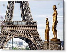 Femmes Parisienne Acrylic Print by Joachim G Pinkawa