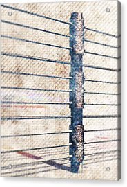 Acrylic Print featuring the digital art Fence Post by Phil Perkins