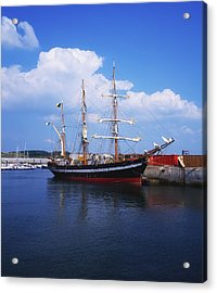 Fenit, Co Kerry, Ireland Famine Ship Acrylic Print by The Irish Image Collection