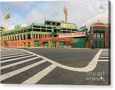 Fenway Park II Acrylic Print by Clarence Holmes