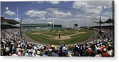 Fenway South Acrylic Print by Paul Plaine