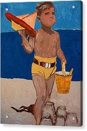 Fernando Acrylic Print by Azul Fam