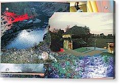 Ferndale Moon Jump Acrylic Print
