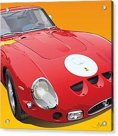 Ferrari Gto Detail Acrylic Print