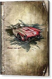 Ferrari Acrylic Print by Svetlana Sewell
