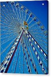 Ferris Wheel - Nuremberg  Acrylic Print