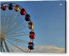 Acrylic Print featuring the photograph Ferris Wheel by Brian Hughes