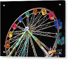Ferris Wheel II Acrylic Print by Heidi Hermes