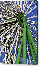 Ferris Wheel  Acrylic Print by Stelios Kleanthous
