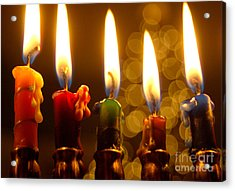 Acrylic Print featuring the photograph Festival Of Lights by Linda Mesibov