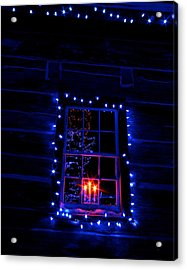 Festive Lights Acrylic Print by Andre Faubert