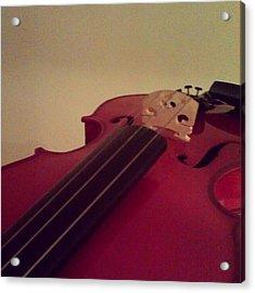 #fiddle #trad #violin #music #instagood Acrylic Print