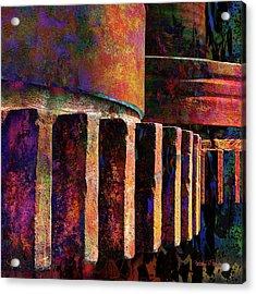 Fiery Glow Acrylic Print