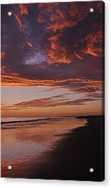Fiery Skies Acrylic Print