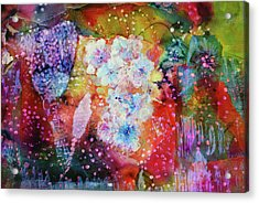 Fiesta Painting  Acrylic Print by Don Wright