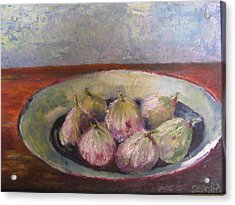 Figs In Summer Acrylic Print by Sarie Eksteen