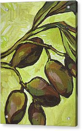 Figs Acrylic Print by Sandy Tracey