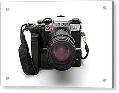 Film Camera Acrylic Print by Victor De Schwanberg