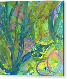 Finding Joy Acrylic Print by Bethany Stanko