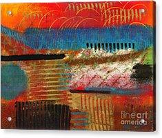 Finding My Way Acrylic Print by Angela L Walker