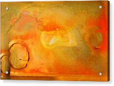 Fine Art Painting Original Ditital Abstract Palette Acrylic Print