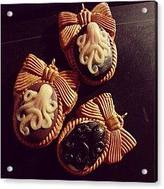 Finiti :3 #fimo #cratf #cammeo #octopus Acrylic Print
