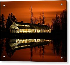 Fintry Packing House Acrylic Print by Phil Dionne
